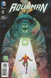 Cover Thumbnail for Aquaman (2011 series) #44 [Green Lantern 75th Anniversary Cover]