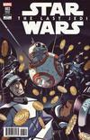 Cover Thumbnail for Star Wars: The Last Jedi Adaptation (2018 series) #3 [Casper Wijngaard]