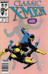 Cover Thumbnail for Classic X-Men (1986 series) #33 [Mark Jewelers]