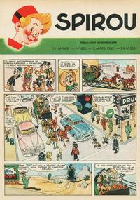 Cover Thumbnail for Spirou (Dupuis, 1947 series) #620