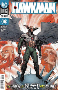 Cover Thumbnail for Hawkman (DC, 2018 series) #21 [Raymund Bermudez Cover]