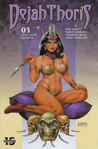 Cover Thumbnail for Dejah Thoris (Dynamite Entertainment, 2019 series) #3 [Cover C Joseph Michael Linsner]