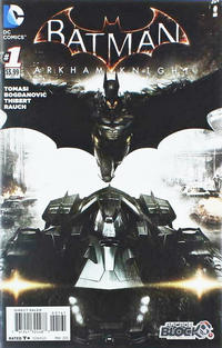 Cover Thumbnail for Batman: Arkham Knight (DC, 2015 series) #1 [Arcade Block Cover]