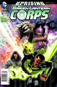 Cover Thumbnail for Green Lantern Corps (DC, 2011 series) #31 [Newsstand]