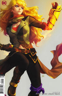 Cover Thumbnail for RWBY (DC, 2019 series) #5 [Artgerm Cardstock Variant Cover]