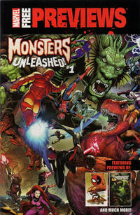 Cover Thumbnail for Marvel Free Previews Monsters Unleashed (Marvel, 2017 series) #1