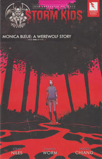 Cover Thumbnail for John Carpenter Presents Storm Kids: Monica Bleue: A Werewolf Story (Storm King Productions, 2019 series) #1
