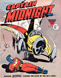 Cover Thumbnail for Captain Midnight (L. Miller & Son, 1950 series) #13
