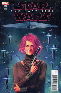 Cover Thumbnail for Star Wars: The Last Jedi Adaptation (Marvel, 2018 series) #4 [Rod Reis]