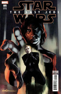 Cover Thumbnail for Star Wars: The Last Jedi Adaptation (Marvel, 2018 series) #5 [David Lopez]
