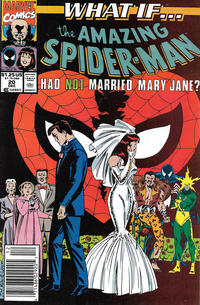 Cover Thumbnail for What If...? (Marvel, 1989 series) #20 [Newsstand]