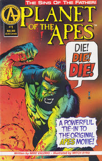 Cover Thumbnail for Planet of the Apes: Sins of the Father (Malibu, 1992 series) #1