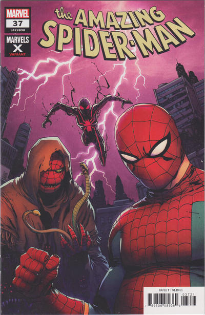 Cover for Amazing Spider-Man (Marvel, 2018 series) #37 (838)
