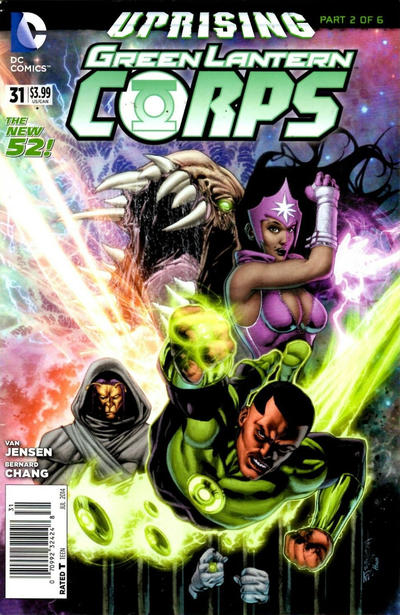 Cover for Green Lantern Corps (DC, 2011 series) #31 [Newsstand]
