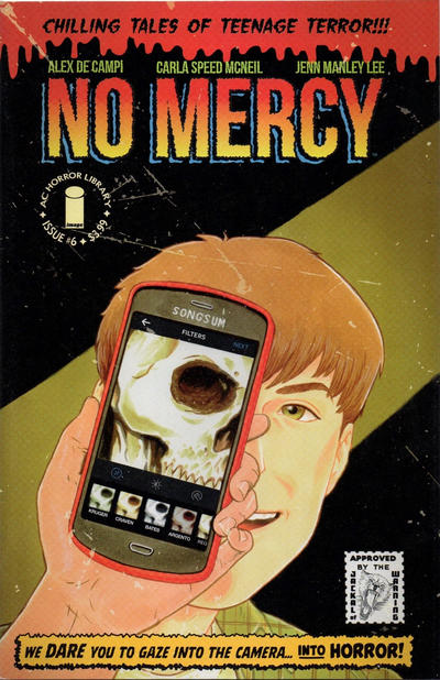 Cover for No Mercy (Image, 2015 series) #6