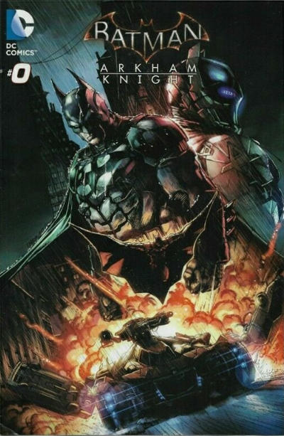 Cover for Batman: Arkham Knight (DC, 2015 series) #0