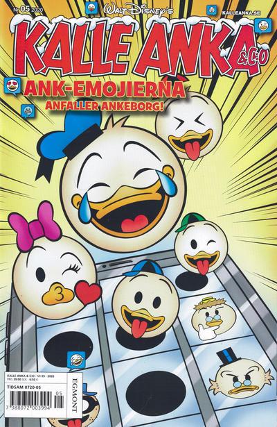 Cover for Kalle Anka & C:o (Egmont, 1997 series) #5/2020