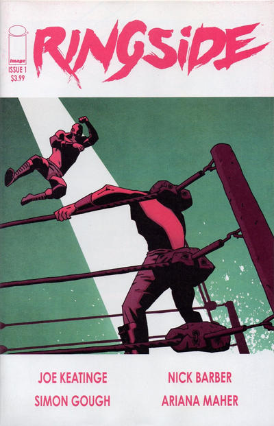 Cover for Ringside (Image, 2015 series) #1