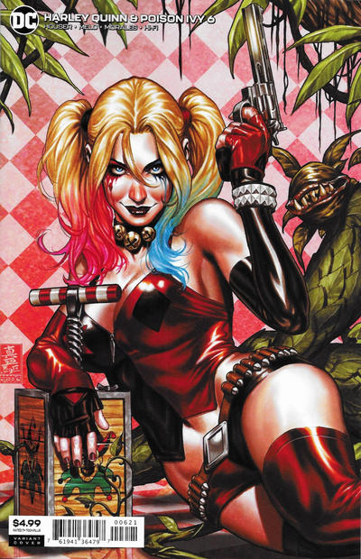 Cover for Harley Quinn & Poison Ivy (DC, 2019 series) #6