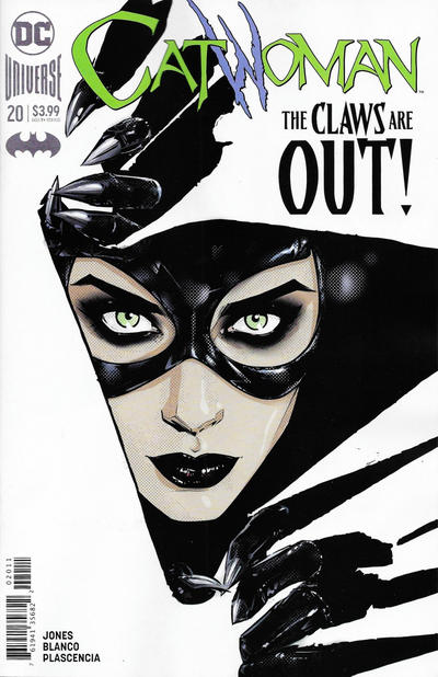Cover for Catwoman (DC, 2018 series) #20