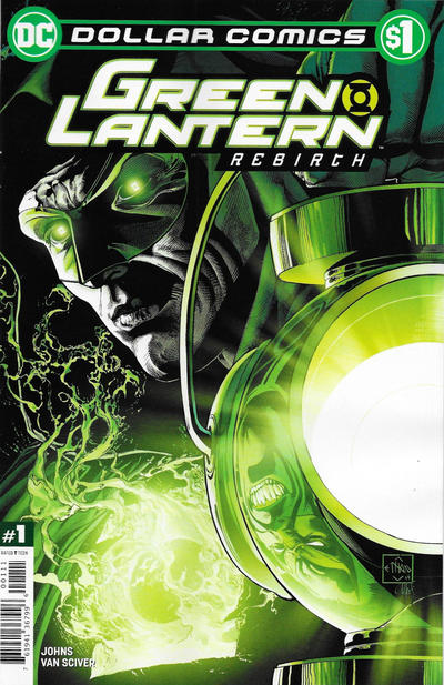Cover for Dollar Comics: Green Lantern: Rebirth 1 (DC, 2020 series)