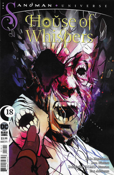 Cover for House of Whispers (DC, 2018 series) #18