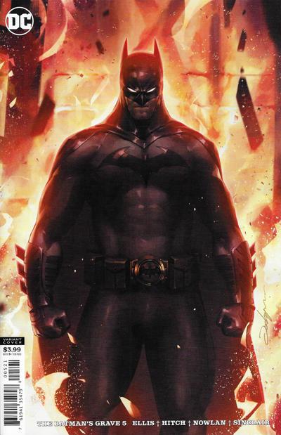 Cover for The Batman's Grave (DC, 2019 series) #5 [Bryan Hitch & Alex Sinclair Cover]