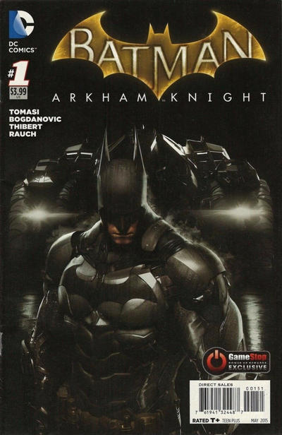 Cover for Batman: Arkham Knight (DC, 2015 series) #1 [Game Art Cover]