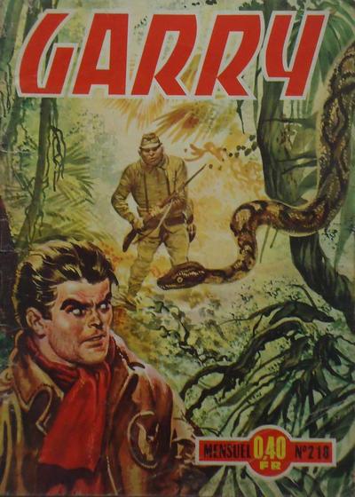 Cover for Garry (Impéria, 1950 series) #218