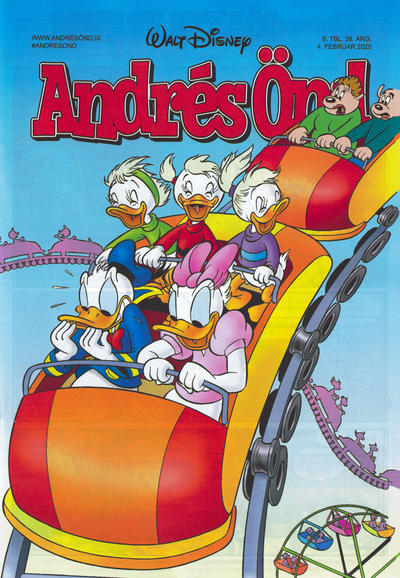Cover for Andrés Önd (Edda, 2000 series) #6/2020