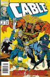 Cover for Cable (Marvel, 1993 series) #4 [Newsstand]