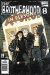 Cover for The Brotherhood (Marvel, 2001 series) #8 [Newsstand]