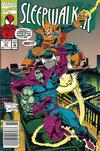 Cover for Sleepwalker (Marvel, 1991 series) #21 [Newsstand]