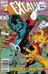 Cover for Excalibur (Marvel, 1988 series) #62 [Newsstand]