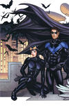 Cover Thumbnail for Batman (2016 series) #50 [4ColorBeast.com Frank Cho Connecting Cover - Catwoman and Nightwing]