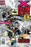 Cover for X-Men Unlimited (Marvel, 1993 series) #1 [Newsstand]