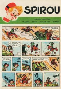 Cover Thumbnail for Spirou (Dupuis, 1947 series) #622
