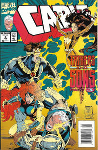Cover Thumbnail for Cable (Marvel, 1993 series) #8 [Newsstand]