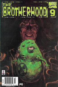 Cover Thumbnail for The Brotherhood (Marvel, 2001 series) #9 [Newsstand]