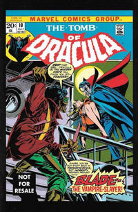 Cover Thumbnail for Tomb of Dracula 10 (New Line Cinema) (Marvel, 2005 series)