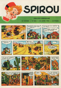 Cover Thumbnail for Spirou (Dupuis, 1947 series) #623