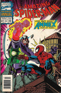 Cover Thumbnail for The Amazing Spider-Man Annual (Marvel, 1964 series) #27 [Newsstand]