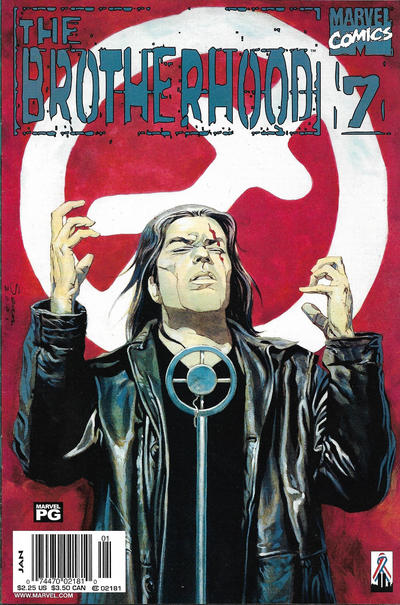 Cover for The Brotherhood (Marvel, 2001 series) #7 [Direct Edition]
