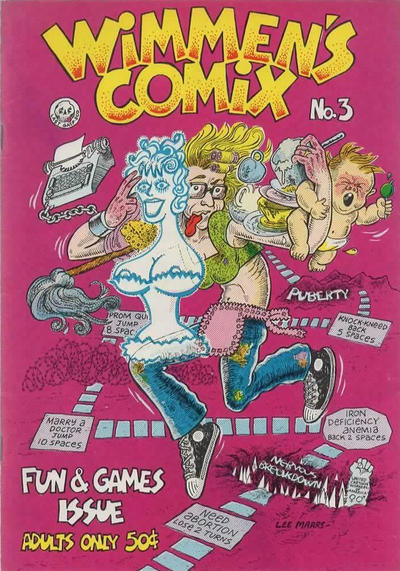 Cover for Wimmen's Comix (Last Gasp, 1972 series) #3 [Second Printing]
