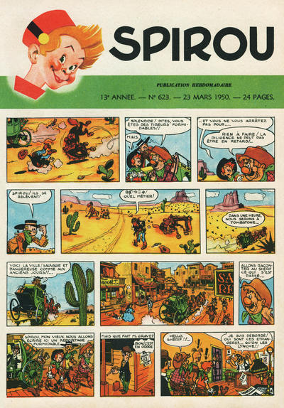 Cover for Spirou (Dupuis, 1947 series) #623