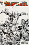 Cover for Deadpool (Marvel, 2020 series) #1 (316) [David Finch Black and White]