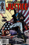Cover for Justice (Marvel, 1986 series) #14 [Newsstand]