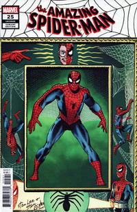 Cover Thumbnail for Amazing Spider-Man (Marvel, 2018 series) #25 (826) [Variant Edition - Steve Ditko 'Hidden Gem']
