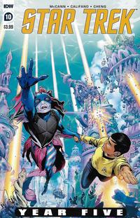 Cover Thumbnail for Star Trek: Year Five (IDW, 2019 series) #10 [Regular Cover]
