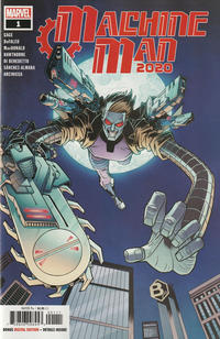 Cover Thumbnail for 2020 Machine Man (Marvel, 2020 series) #1